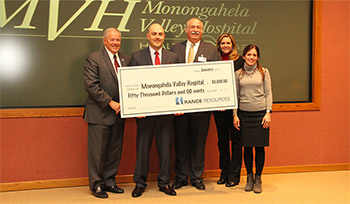 Range Resources Invests in Mon Valley Communities' Health photo