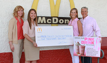 Drink Pink at Local McDonald's to Fight Breast Cancer photo